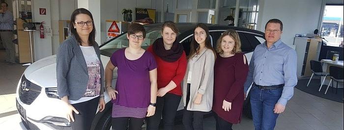 Projektarbeit der BHAS Stegersbach über auto Doczekal