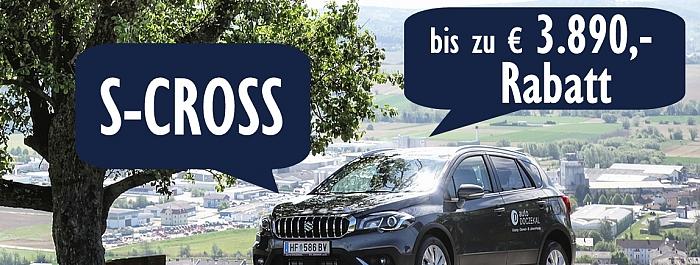 Grosser Suzuki S-Cross Abverkauf!