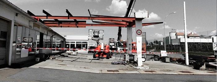 Umbau Auto Doczekal in GÜSSING